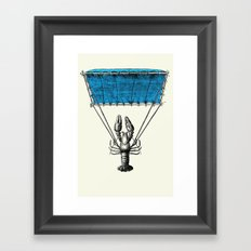 Lobster Trooper Framed Art Print