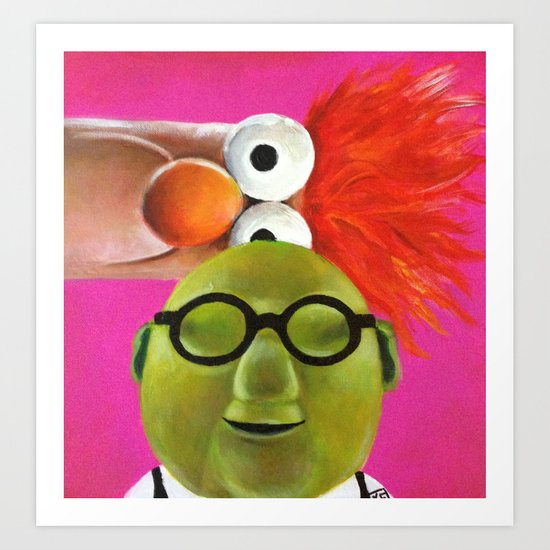 The Muppets - Bunsen and Beaker Art Print