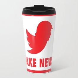 TRUMP'S TWITTER IS THE REAL AKE NEWS Travel Mug