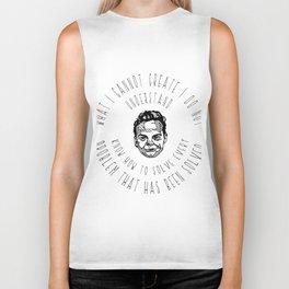 Richard Feynman Quotes Biker Tank