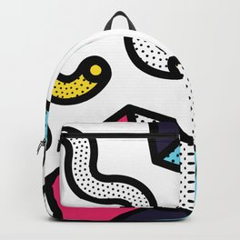 Memphis Pop-art Pattern II Backpack