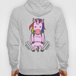 Weightlifting Unicorn | Fitness Training Hoody
