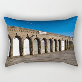 Old tram depot of Berlin Rectangular Pillow