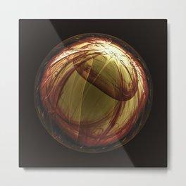 Fractality - Iris Metal Print