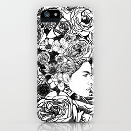 "PHOENIX AND THE FLOWER GIRL ""REFLECTION"" SINGLE PRINT iPhone Case"