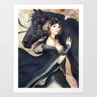 artgerm Art Prints featuring Pepper Empress by Artgerm™