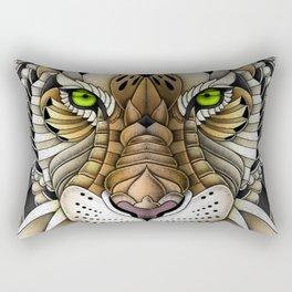 Ornate Tiger Rectangular Pillow
