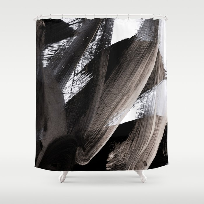 Bs 8 Shower Curtain By Patternization