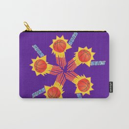 SUNS HAND-DRAWING DESIGN Carry-All Pouch
