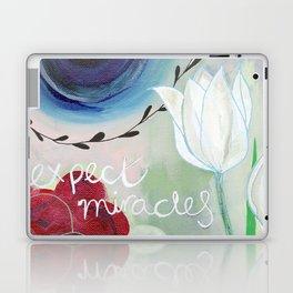 Expect miracles Laptop & iPad Skin