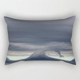 waves in the sky Rectangular Pillow
