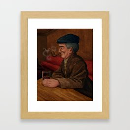 Irishman Framed Art Print