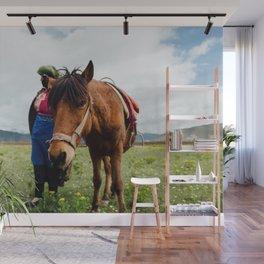 horse by Hanson Lu Wall Mural