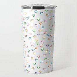 Candy Hearts Travel Mug