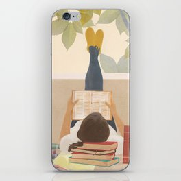 Bookworm iPhone Skin