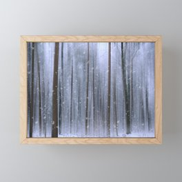 The Winter Wood IV Framed Mini Art Print