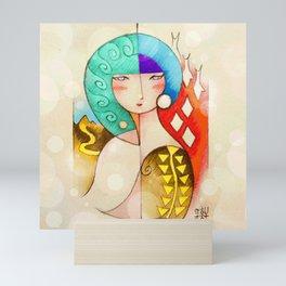 Lina Rosa Mini Art Print