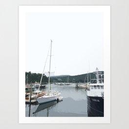 NorthEast Harbor, ME Art Print