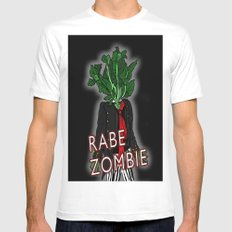 Rabe Zombie Mens Fitted Tee MEDIUM White