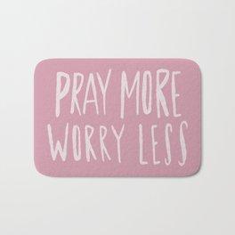 Pray More x Rose Bath Mat