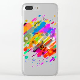 POINT Clear iPhone Case