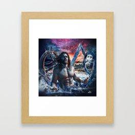 Kanaloa Aquaman Framed Art Print