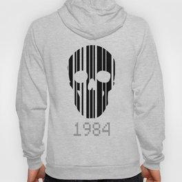 Barcode Skull 1984 Hoody