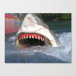 Shark Attack! Canvas Print