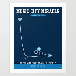 Music City Miracle Art Print