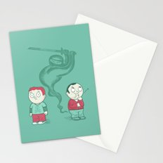 Silent and Deadly Stationery Cards