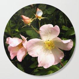 The Sally Holmes Single Rose Cutting Board