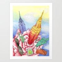 Spring NY Art Print