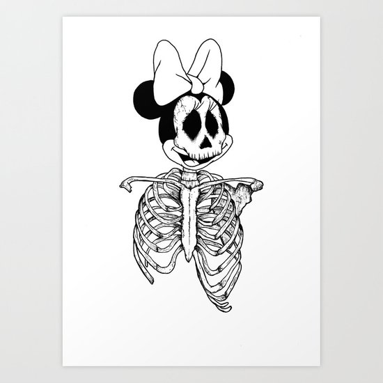 GreaterDeathsney Art Print