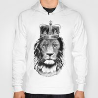 lion king Hoodies featuring Lion King by dalsdesign