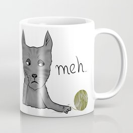 Funny meh cat Coffee Mug
