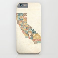 California by County iPhone 6s Slim Case