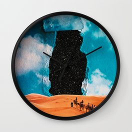 False Sky Wall Clock