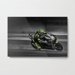 Moto GP Cal Crutchlow  Metal Print