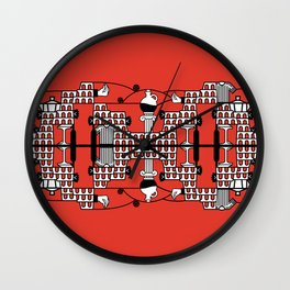 ITALY SPIRIT Wall Clock
