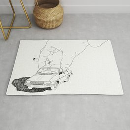 Driving home Rug