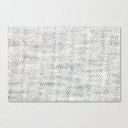 Gray Wool Canvas Print