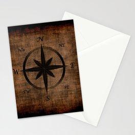 Nostalgic Old Compass Rose Stationery Cards
