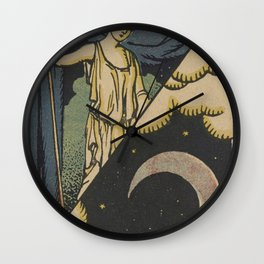 Lune Moon Wall Clock