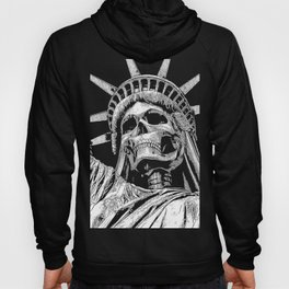 Liberty or Death B&W Hoody
