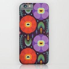 Flowerfully Folk Slim Case iPhone 6s