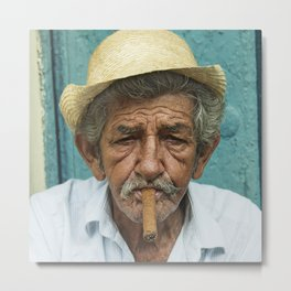 Mr Habanos  Metal Print