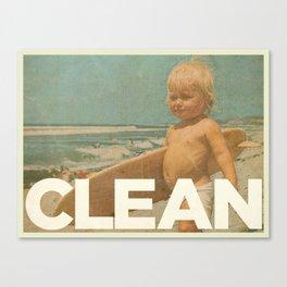 CLEAN Canvas Print