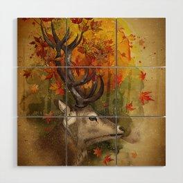 Oh, Deer! Autumn Wood Wall Art