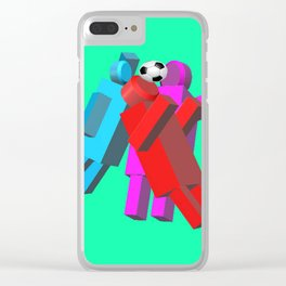 Use Your Head Clear iPhone Case
