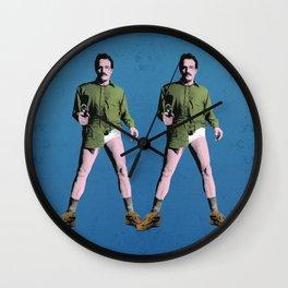 Double Walt Wall Clock